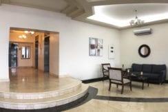 Pacific Blue lobby